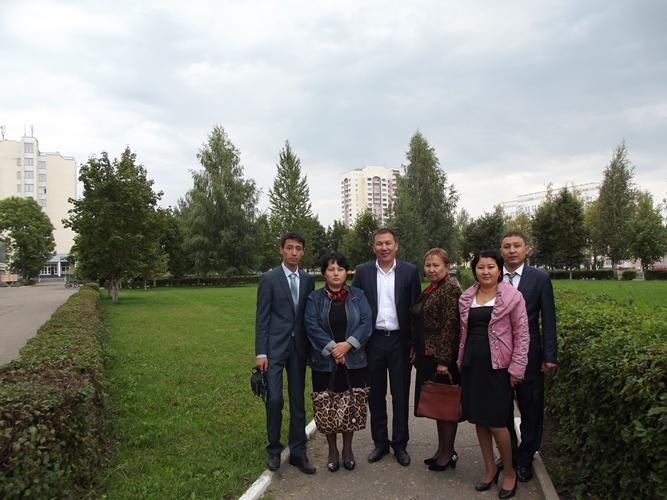 Повышения квалификации преподавателей Жамбылского политехнического колледжа Республики Казахстан