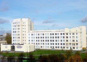 4 корпус Витебского государственного технологического университета. Факультет повышения квалификации и переподготовки кадров
